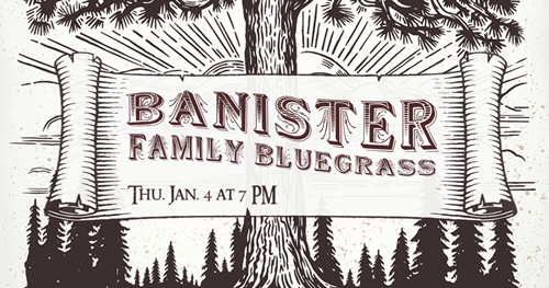 Banister Family Bluegrass Concert at the Library