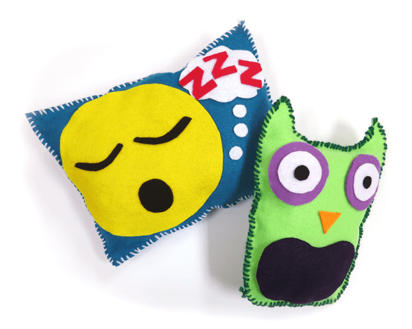 DIY Felt Pillows