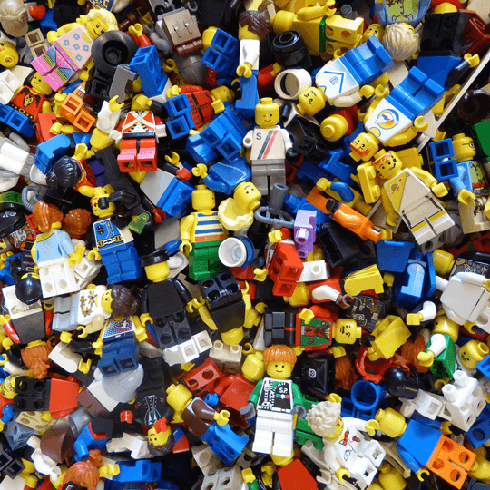 Lego Mania at the Library