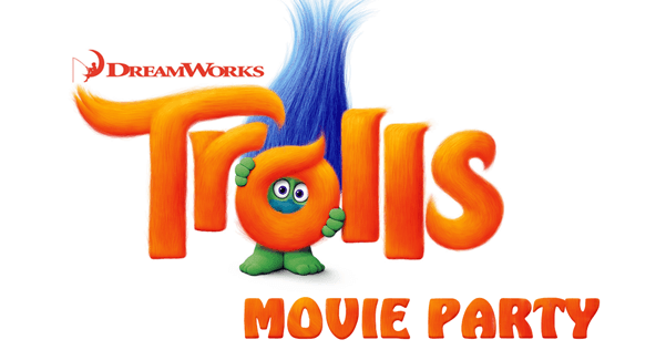 Trolls Movie Party at the Library