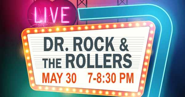 Dr. Rock and the Rollers at the Library in Greenfield