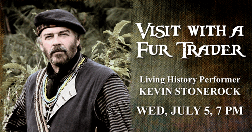 Visit With Fur Trader Living History with Kevin Stonerock