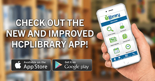 New mobile app for HCPLibrary