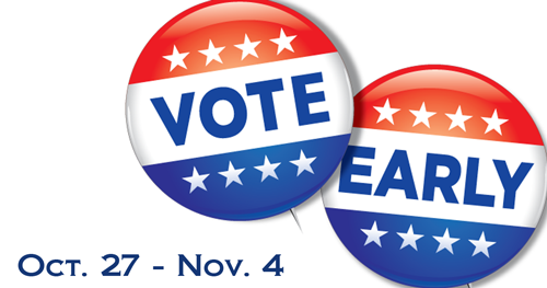 Vote early at the library in Greenfield and New Palestine.