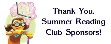 Summer Reading Club Sponsors