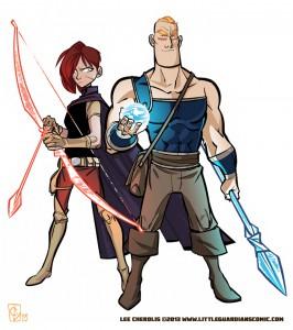 Little Guardians Characters