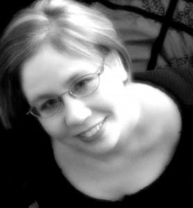Local Author Fair Saundra Mitchell-photo-bw
