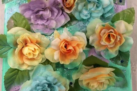 Flowers on Canvas Photos